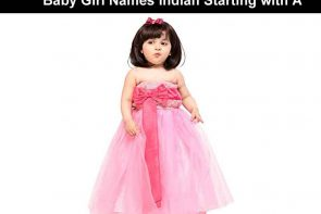 Baby Girl Names Indian Starting with A